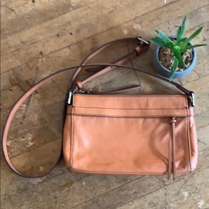 HOBO Cadence Crossbody.  Dusty Coral.